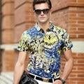 Hombres camiseta de manga corta para, algodón mercerizado doble versión camisas de alto grado de camuflaje hombres del algodón camisetas de manga corta para