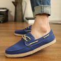 De los hombres Pisos Mocasines 2017 Zapatos de Lona del Hombre de la Lona Alpargatas Casual Summer Marca Walking Slip On Driving Shoes Chaussure