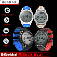 2017 Hold Mi NO 1 F3 Smart Watch Bracelet IP68 Waterproof Smartwatch Outdoor Mode Sleep Monitor