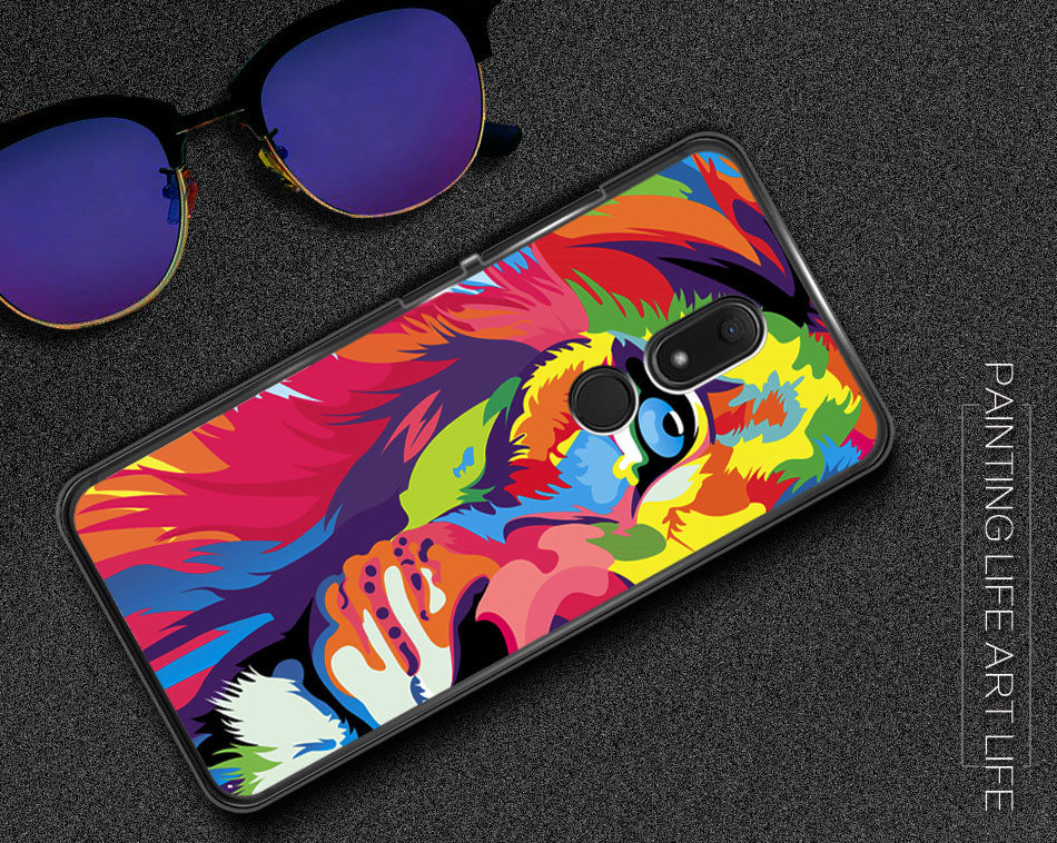 For Wiko View Prime Case Silicone TPU Printed Soft Cover Phone Case For  Wiko View Protective Back Cover Coque For Wiko View XL