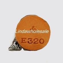 Кожа резьба печати инструмент E320, learher инструменты штампов, штамп кожи ремесла