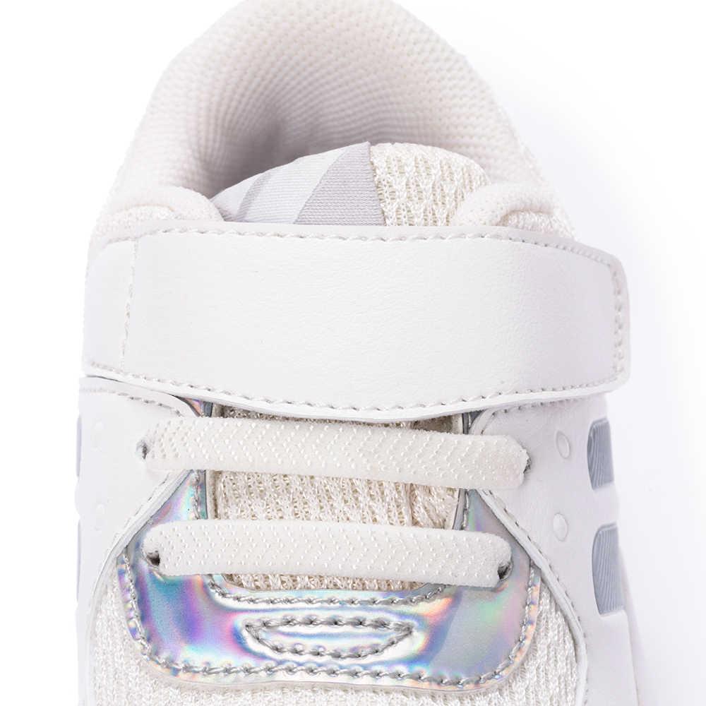 Balabala Kinderen Sneakers met Klittenband Sluiting Peuter Kids Anti-slip Soft Sport Schoenen Meisjes Jongens Peuter Running schoenen