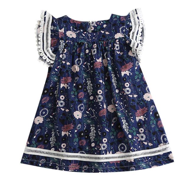 Delicate Floral Dress