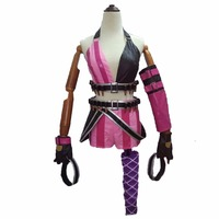 2018 Jinx Cosplay Costume Lol Game Party Carnival Halloween cosplay Costumes
