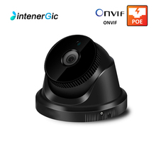 Black 5MP Dome Video Surveillance Camera Waterproof Outdoor Home Security POE ip Camera Network NVR HD ONVIF IP Night Vision fl ip1550dt p1 h 265 ip camera 5mp dome surveillance ip camera night vision camera ir cut filter home security onvif