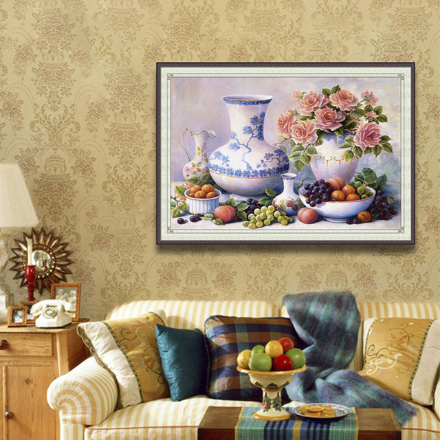5D DIY Food Wall Handmade Embroidery with Diamonds Painting for ...