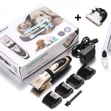 BaoRun профессиональные кошка Машинки для стрижки собак Перезаряжаемые Животные Уход за лошадьми Clipper бритвы электрические ножницы машина для стрижки волос