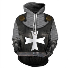 Fashion Hoodies Men/Women Thin 3d Sweatshirts Print cross Hooded  harajuku