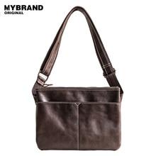 Mybrandoriginal сумка натуральная кожа сумка для человека небольшие модные сумки высокого качества Мужская кожаная сумка B98