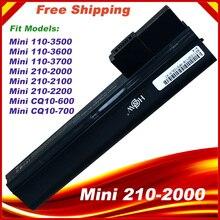 Batteria del computer portatile per HP Mini 110 3500 Mini 110 3600 Mini 110 3700 computer portatili ED03 ED06 ED06066 HSTNN LB1Y 630193 001 HSTNN UB1Y 61456