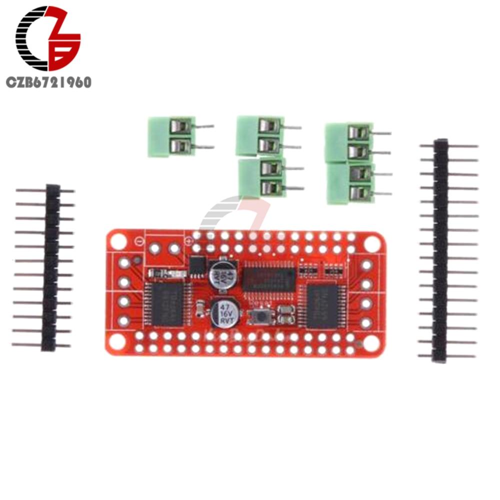 PCA9685 TB6612 Stepper Motor Speed Controller Module Dual DC Motor Driver  Controller Board for Arduino