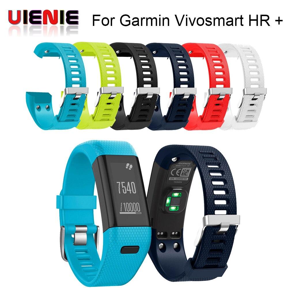 Hot Replacement Soft Silicone Bracelet Sport wrist Strap WristBand Accessory for Garmin Vivosmart HR + Smart Watches Band Sport все цены