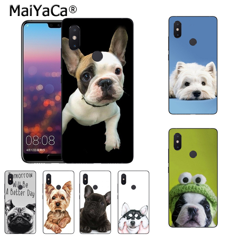 MaiYaCa cute dog puppy teddy On Sale! Luxury Cool phone Case for xiaomi mi 8se 6 note2 note3 redmi 5 plus note4 5 cover