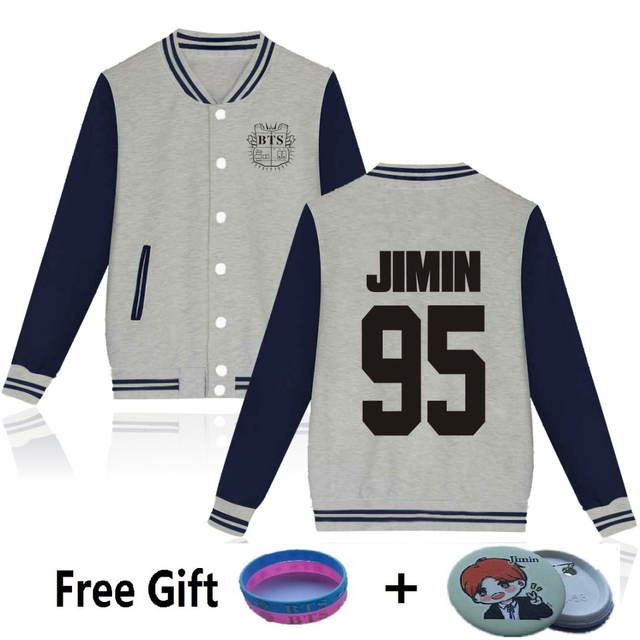 BTS Baseball Jacket (20 Models)
