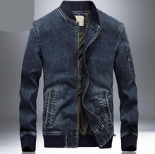 New Men's jeans Jacket Winter jacket