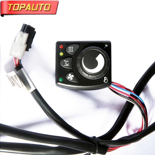e766c1b06f0 TopAuto Control Switch For Air Diesel Parking Heater Similar to Eberspacher  Webasto Belief Heater for Cars Truck Caravan