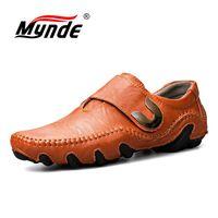 Mynde Мужские туфли из натуральной кожи на шнуровке мужские туфли из натуральной кожи мокасины Для мужчин S Мокасины итальянские дизайнерские...