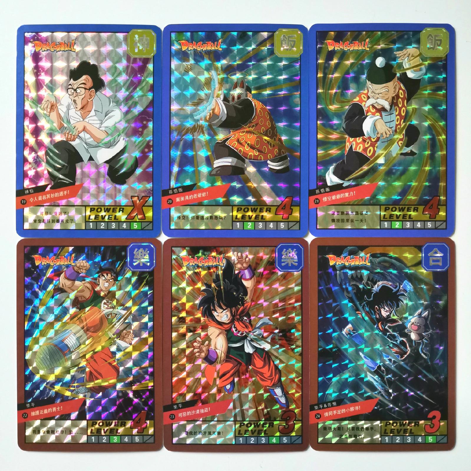 18pcs/set Super Dragon Ball Z Heroes Battle Card Ultra Instinct Goku Vegeta Game Collection Cards
