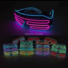 Promotion!50Pcs Neon Led Bulb Rave Costume Party Glasses Fashion TV