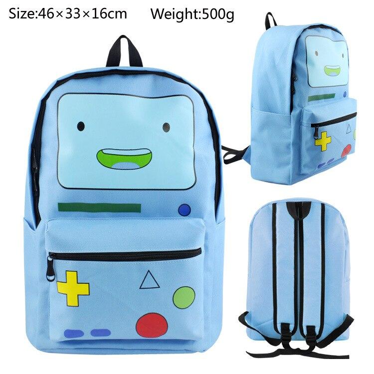 все цены на Adventure time backpack Finn backpack adventure ended BMO console bag онлайн
