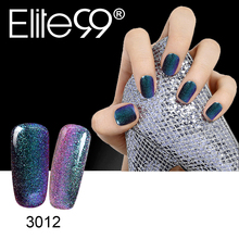 Elite99 3D Bling Nail Gel Polish Pantone Chameleon Color Gel Varnish Polish Manicure Soak Off Long-lasting Polish Gel Lacquer
