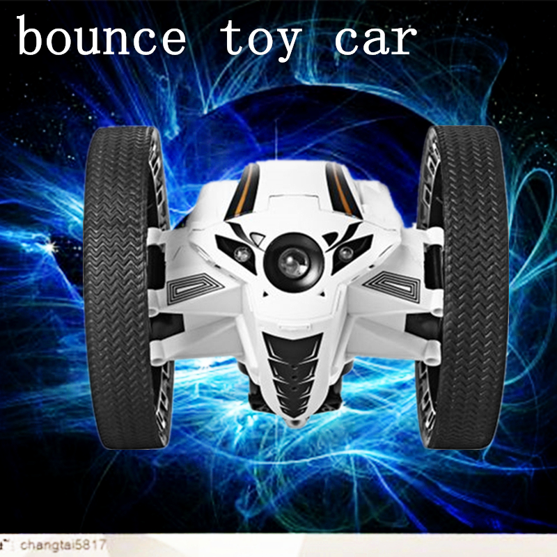 RC Car Bounce Car PEG RH803 2 4G Remote Control Toys Jumping Car with Flexible Wheels