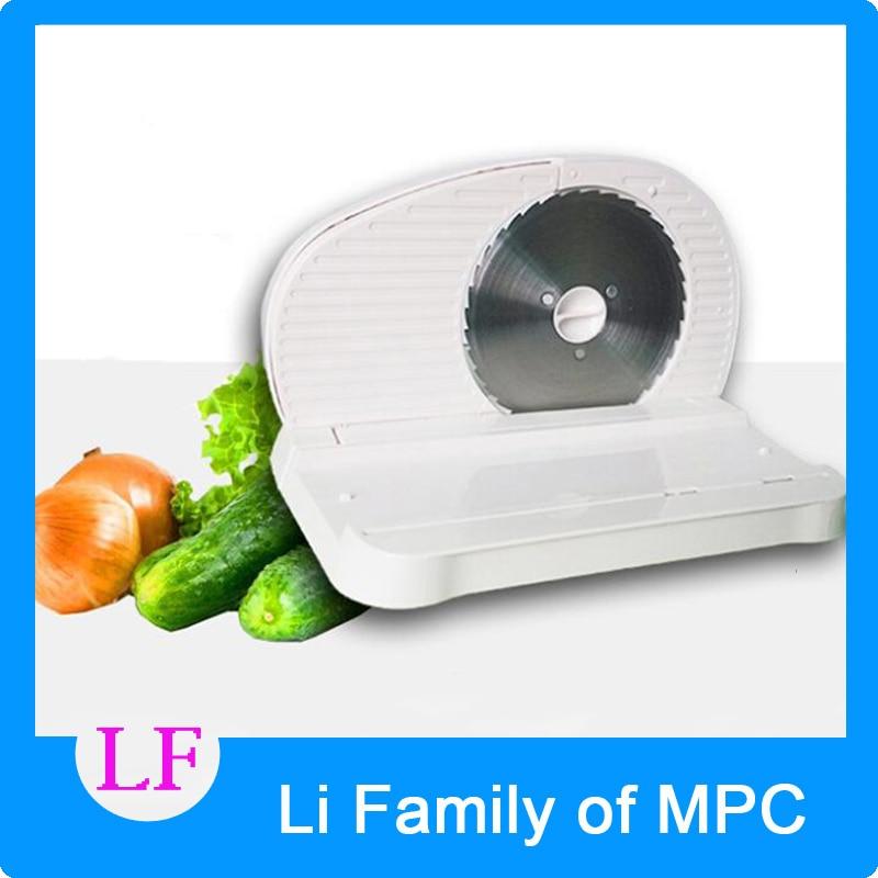 ФОТО FS-996 100W 220V Slicing machine household electric meat cutting machine meat slicer 0-15MM