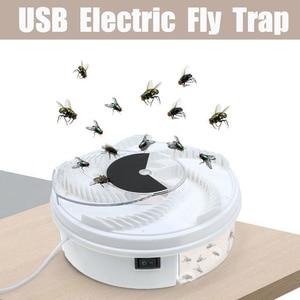 Image 2 - ドロップシップ昆虫トラップフライトラップ電気usb自動フライキャッチャートラップ害虫制御拒否キャッチャー蚊フライング抗キラー