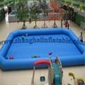 Шанхайский завод Высокое качество Большой взрослых крытый семья бассейн надувной бассейн на продажу хорошей цене