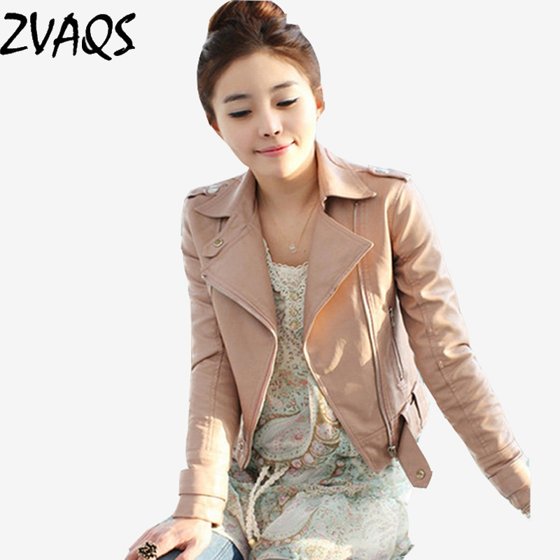 Popular Women&amp39s Pink Leather Jacket-Buy Cheap Women&amp39s Pink