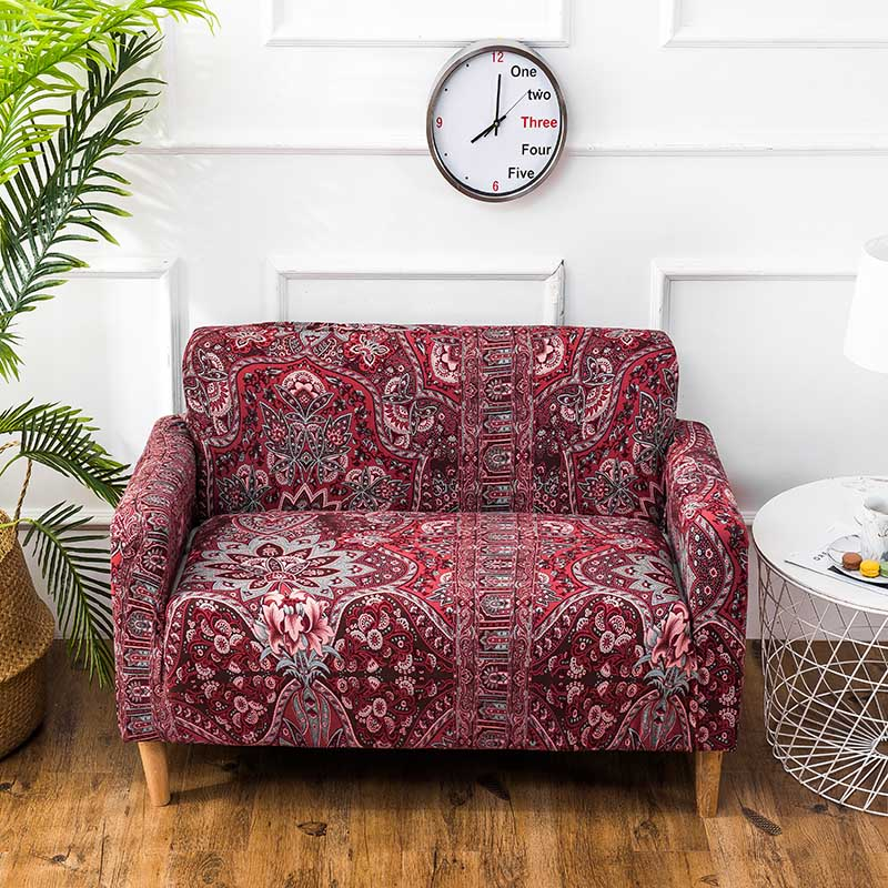 New Slipcover Stretch Sofa Cover Sofa With Loveseat Chair: Vintage Sofa Cover Elastic Sofa Slipcover Cubre Sofa