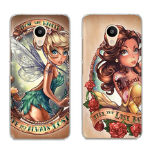 Fashion Sexy Tattoo Princess For Meizu U20 10 M6 5 Note M5S 5C M3s 3Note Pro6 Soft TPU Painted Phone Case Shell Cover Coque