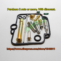 1 Set 18 5 Bandit 400 GSF400 GK75A Mikuni Carburetor Repair Kit Configuration Jet Needle