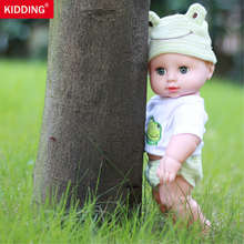 30cm Newborn Baby Doll Soft Stuffed Simulation Toys for Children Educational Life like Babies Dolls  with voice box