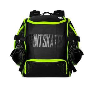 Image 4 - 100% Original Bont อินไลน์สเก็ตความเร็วกระเป๋าเป้สะพายหลัง 28L Professional Roller รองเท้าสเก็ตกระเป๋าผู้ถือหมวกนิรภัยป้องกันเข่า Pads กระเป๋า