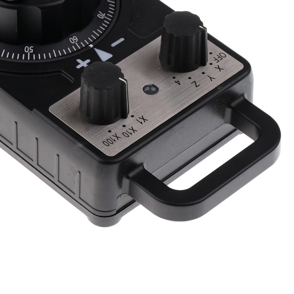 Ручной импульсный кодер, электронный маховик с ЧПУ для FANUC/GSK/KND, полностью пластиковый корпус, станки - 4