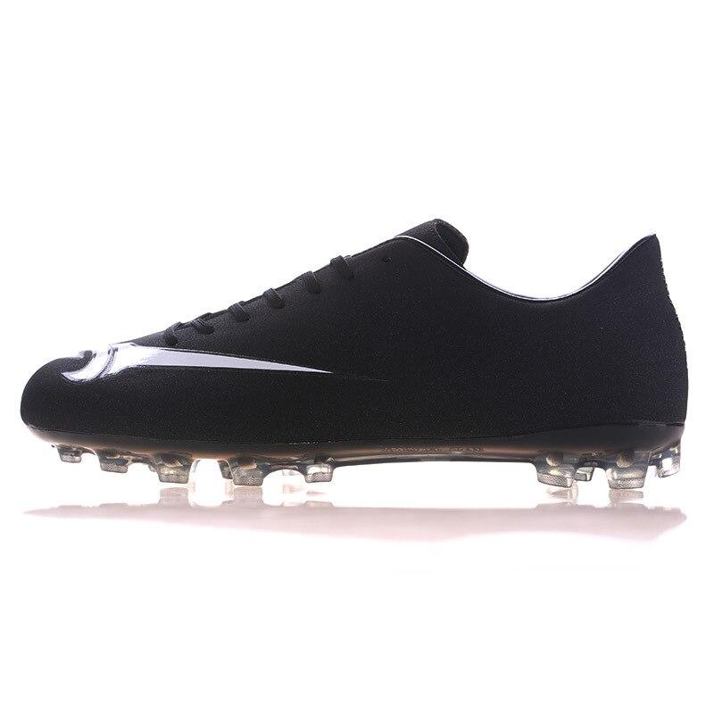 Mid Cut Adolescent Chaussures de Football En Plein Air FG Football Crampons Ferme sol Enfants Hommes Garçons de Football Bottes Scarpe Da Calcio Taille 33-44
