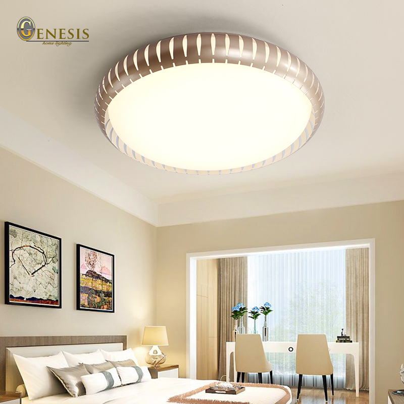 ФОТО 2016 surface mounted modern led ceiling lights for living room light fixture indoor lighting decorative lampshade Free Shipping
