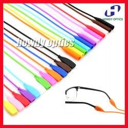 OT007 20 pièces livraison gratuite élastique Silicone lunettes de soleil lunettes lunettes cordon chaîne lunettes cou titulaire oreille crochet