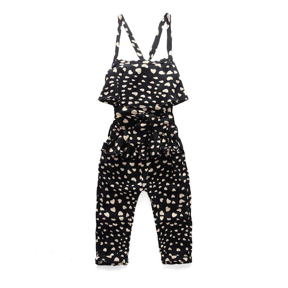 Aile Konijn 2018 Meisjes Kleding Suits Jumpsuit Mode Meisjes Riem Set Gift Riem Hoofdband Backless Klassieke Stijl Herfst Ins