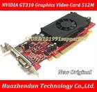 DEBROGLIE 1PCS Brand New LP lowprofile NVIDIA GT310 512M DDR3 PCIE Graphics Video Card DP VGA