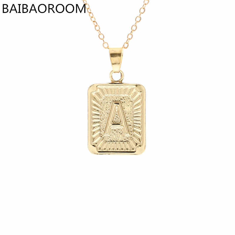 Fashion Jewelry Brand English Alphabet Pendant Necklace For Women Gift