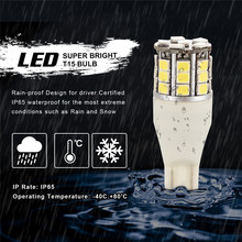 LED Reverse Backup bulb  Chipsets Back up Stop Tail Light Lamp Bulbs Replacement T15,906 579 901 904 908 909 912 914 915 916