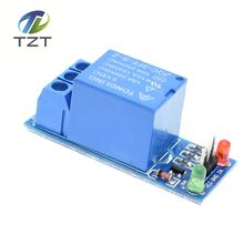 1pcs New 5V low level trigger One 1 Channel Relay Module interface Board Shield For PIC AVR DSP ARM MCU Arduino(China)