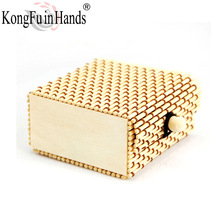 Hot sale Handmade Small Bamboo jewelry  box necklace Case  accessories box Classic vintage High Quality  Wholesale free shipping