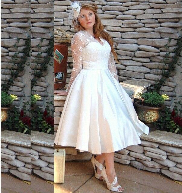 Vestidos de novia baratos plus size