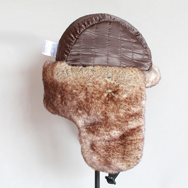 ZDFURS *2018 New Winter  Hats Casual Men Women Windproof Warm Bomber Hats Motorcycle Flight Ear Protection Cap