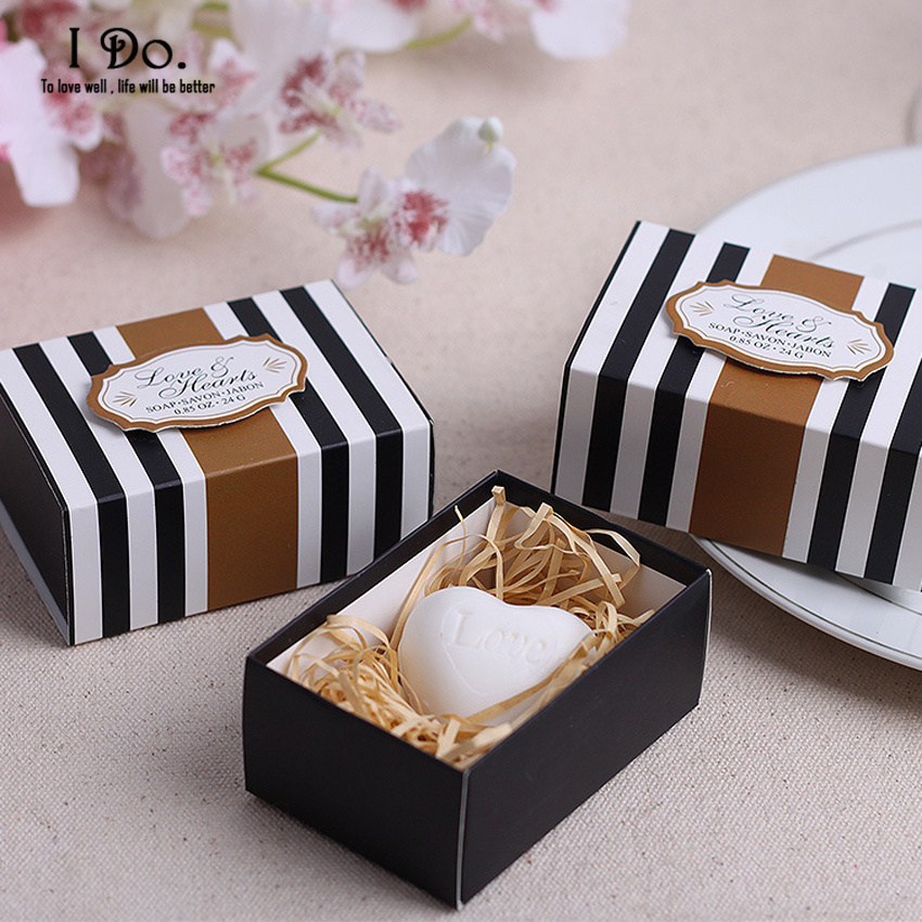Wedding Souvenirs For Guests: Free Shipping Love Heart Soap Wedding Favors And Gifts For