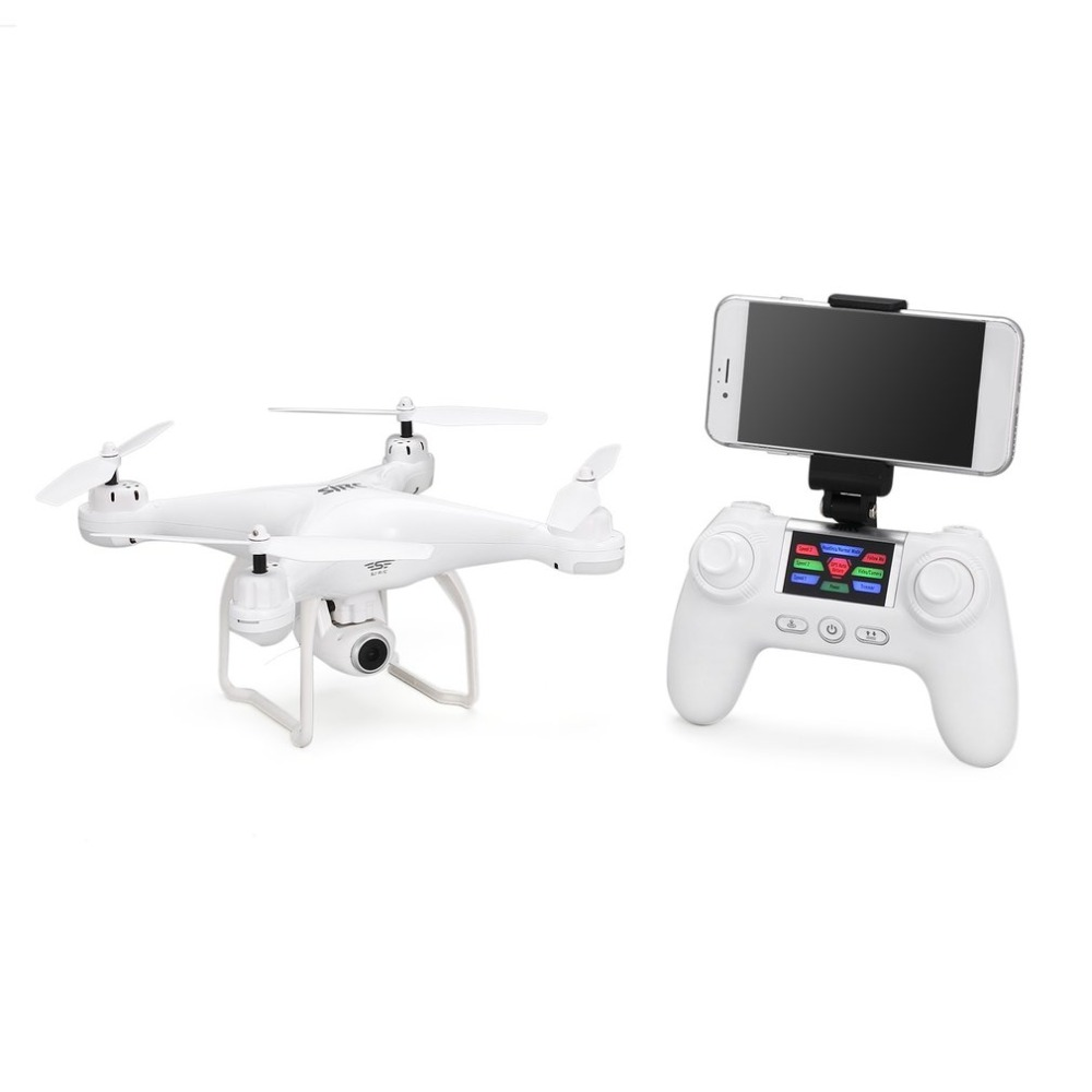 Игрушка-Дрон на дистанционном управлении S20W FPV системы 720 P/1080 P камера селфи высота Удержание Headless режим авто возвращение Взлет/посадка Hover gps RC Quadcopter