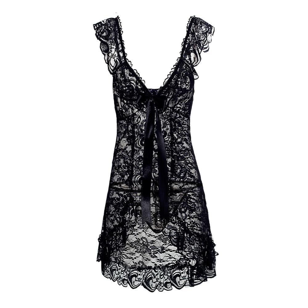 New 4 Colors Hot Plus Size XL XXL XXXL XXXXL 5XL Wedding White Lingerie Babydoll Chemise Nightdress Underwear Sexy Sleepwear 3